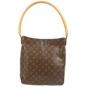 Authentic LOUIS VUITTON LOOPING GM HAND TOTE BAG PURSE CANVAS